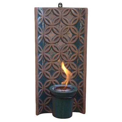 Blue Ceramic Fire Pot At Lowes