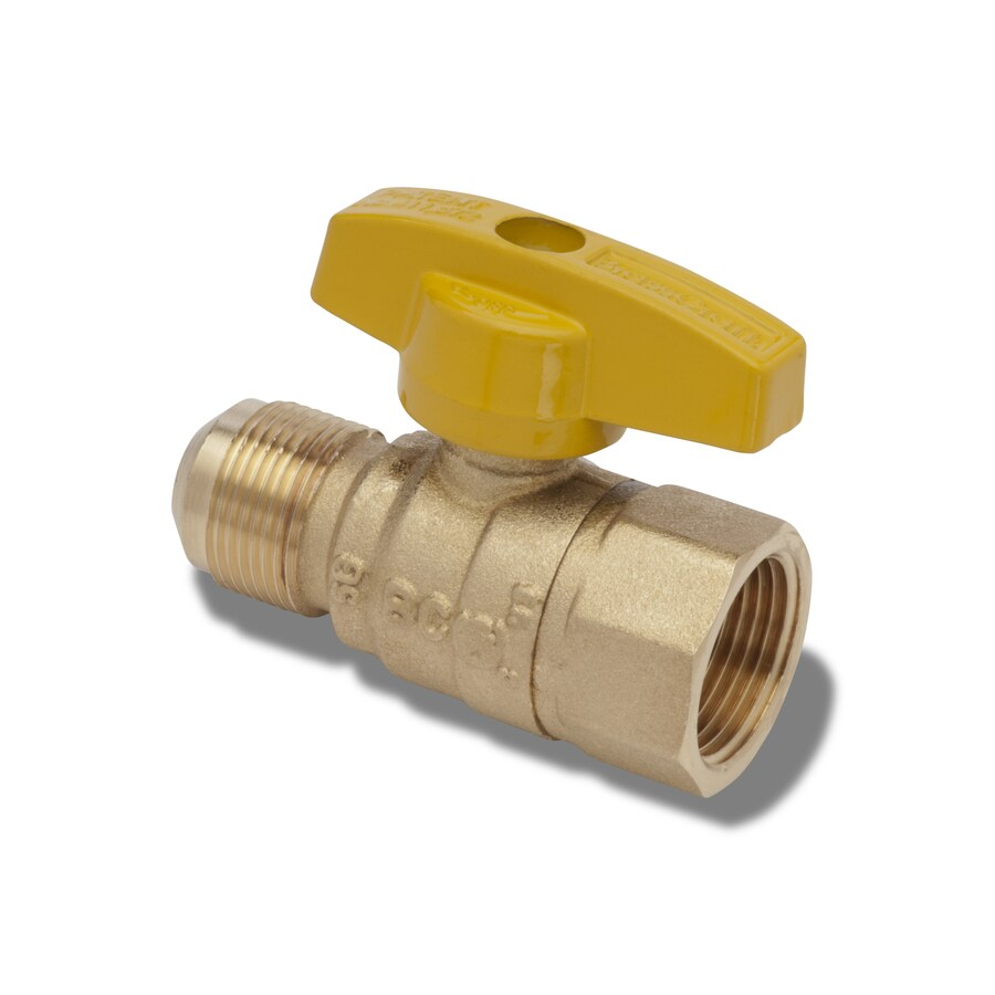 BrassCraft Gas Ball Valve Brass 3/4-in Female Ball Valve
