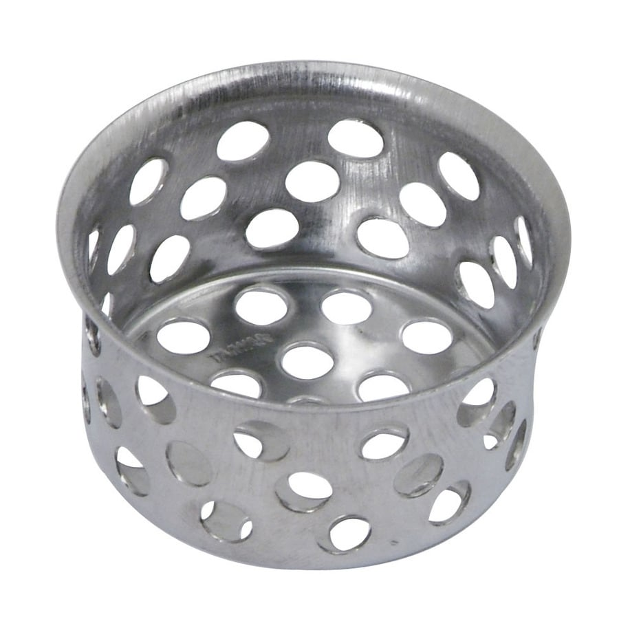 BrassCraft 1-in Chrome Stainless Steel Kitchen Sink Strainer Basket
