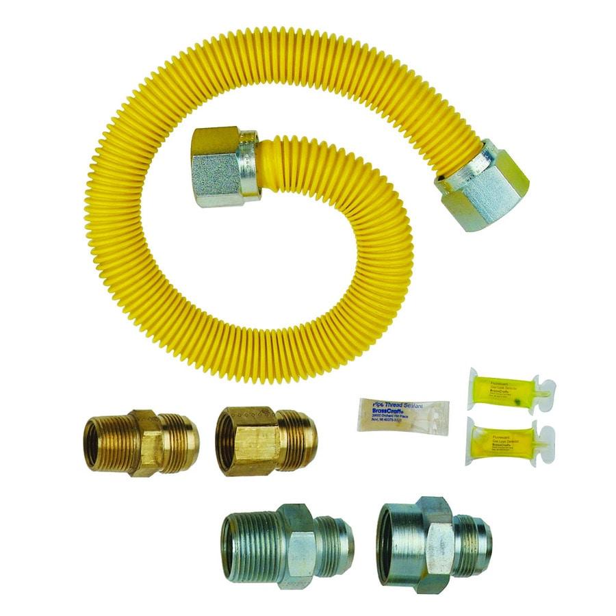 Gas Water Heater Installation Kit Shop Brasscraft Brasscraft Tankless Water Heater Gas Installation