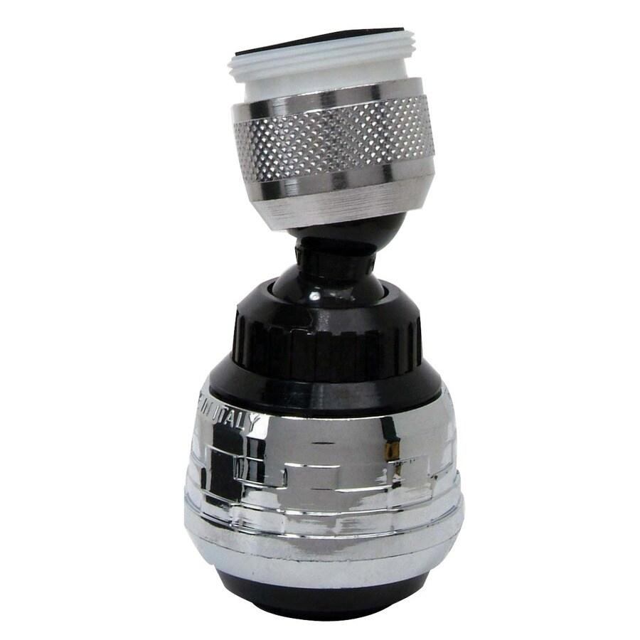 BrassCraft 15/16-in 27-Male x 55/64-in 27-Female Thread Swivel Spray Adapter