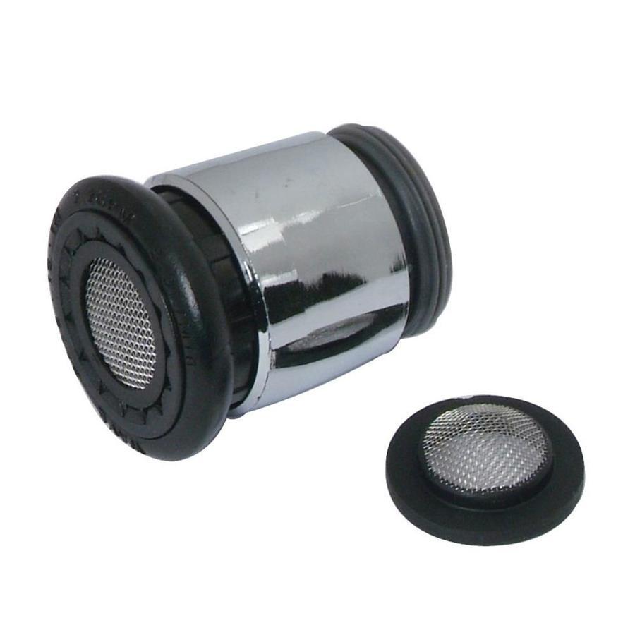 BrassCraft 15/16-in x 27-in Male or 55/64-in x 27-in Female Thread Chrome Storard Aerator Adapter