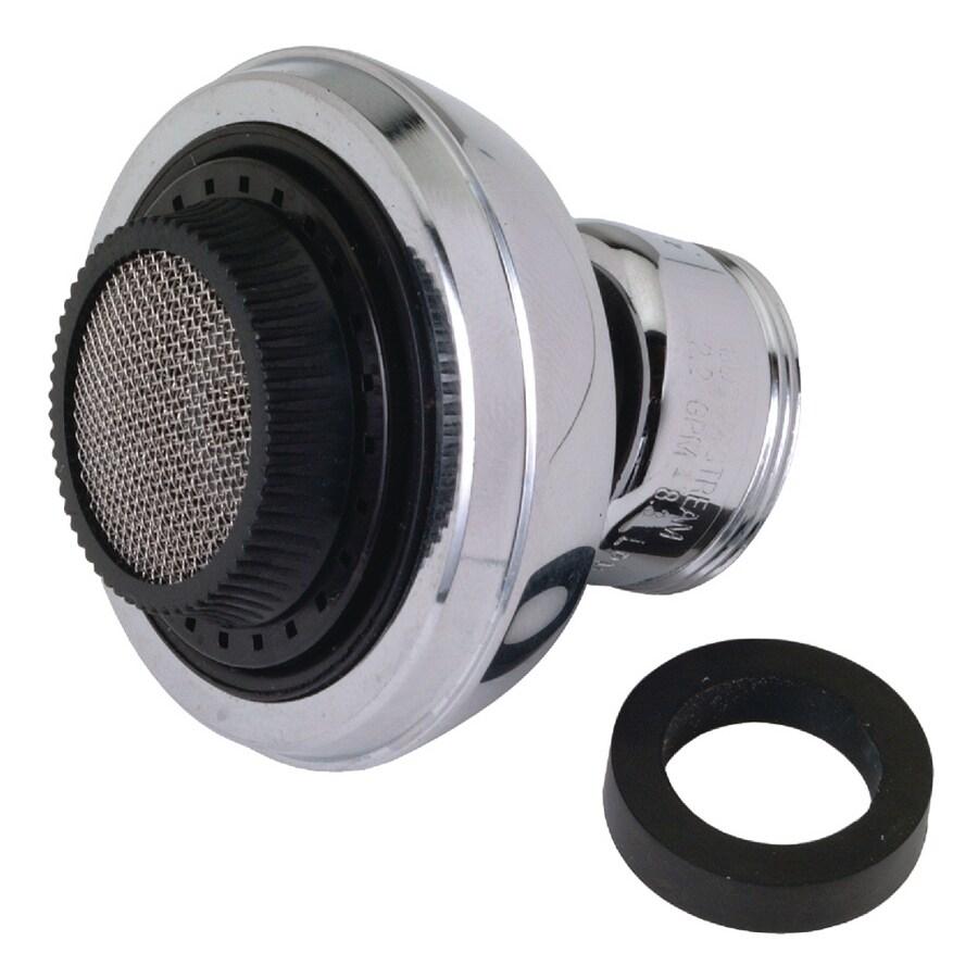 BrassCraft 15/16-in x 27-in Male or 55/64-in x 27-in Female Thread Chrome Swivel Spray Adapter