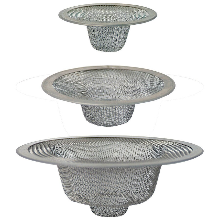 Brasscraft 3 Pack 2 In Stainless Steel Kitchen Sink Strainer Basket