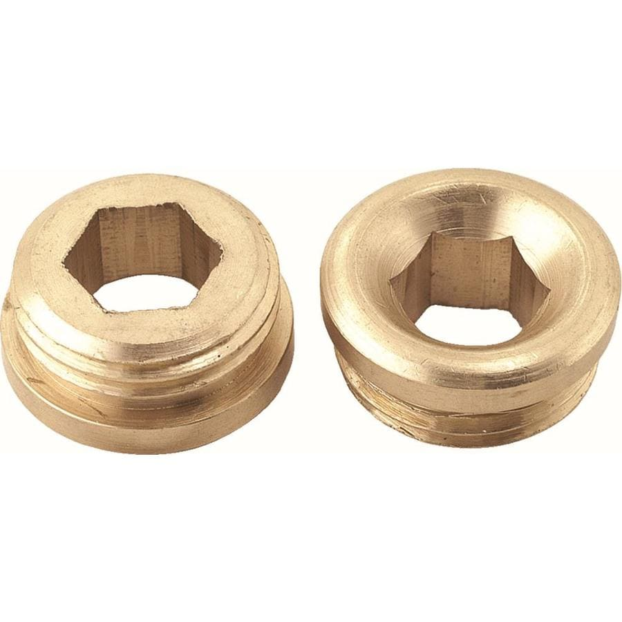 Shop BrassCraft 2-Pack 5/8-in x 18 Brass Faucet Seats at Lowes.com
