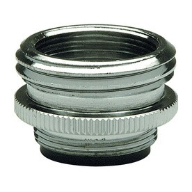 Shop faucet aerators at for Faucet to garden hose adapter lowes