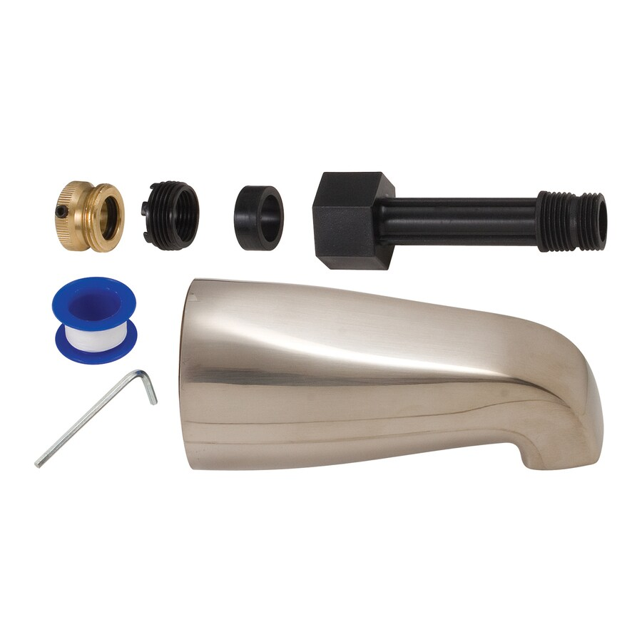 BrassCraft Nickel Tub Spout