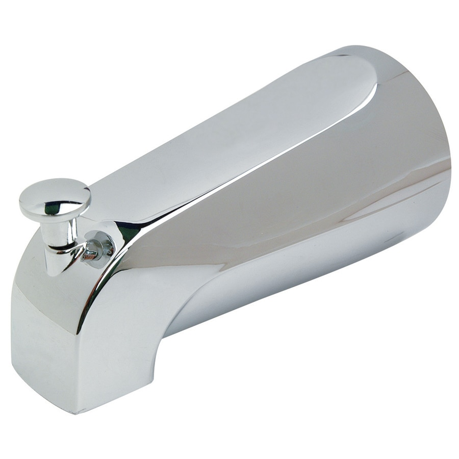 Shop BrassCraft Chrome Tub Spout with Diverter at Lowes.com