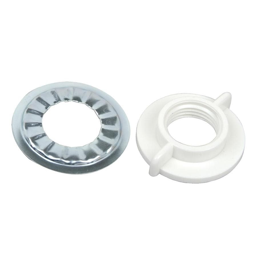 BrassCraft White Extension Nut