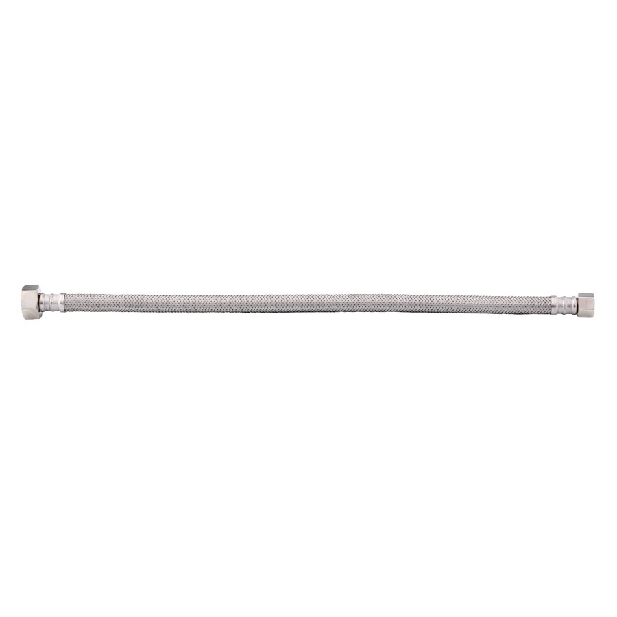 BrassCraft 3/8-in Compression 16-in Braided Stainless Steel Faucet Supply Line
