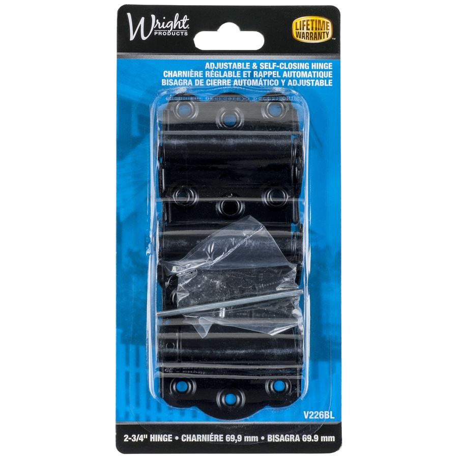 Door Hinges Product : Shop wright products in black steel screen door and