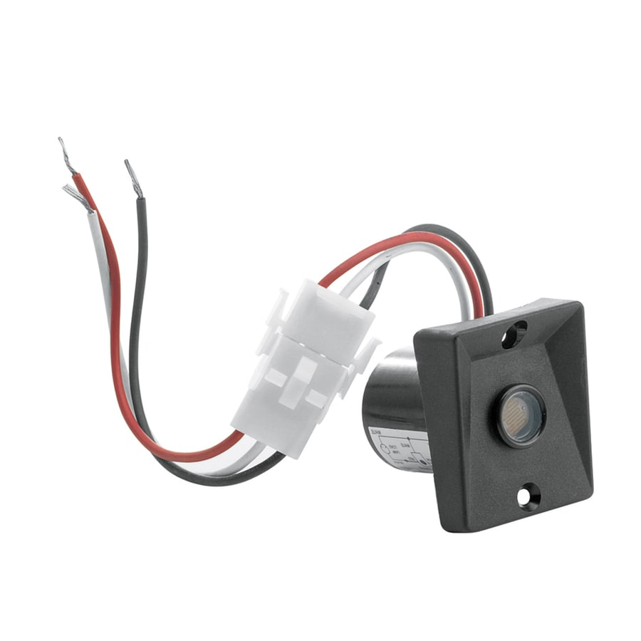 Trinity Lighting Black Wire-in Light Sensor
