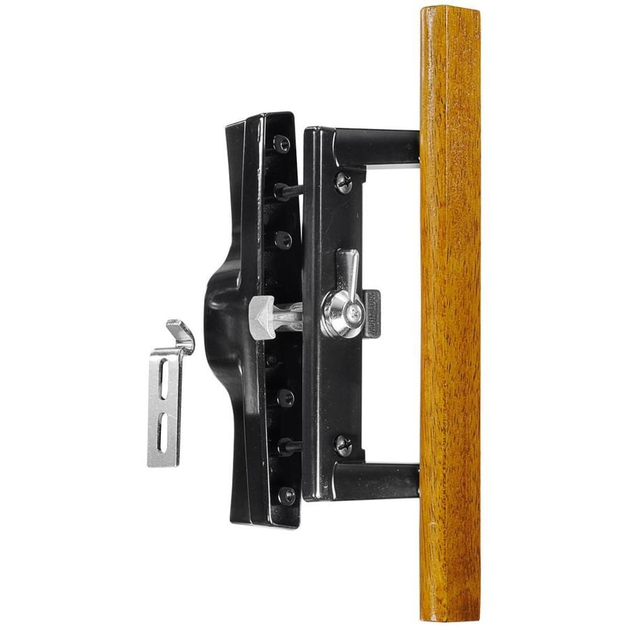 Shop wright products surface mounted sliding for Sliding glass doors hardware