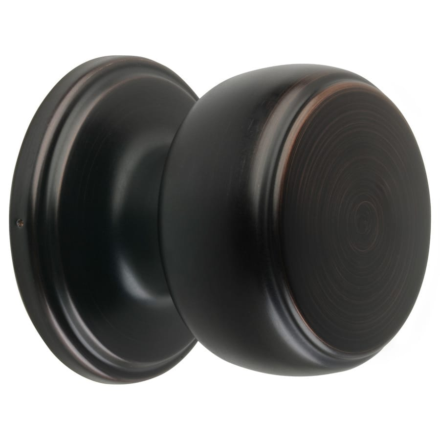 Brinku0027s Home Security Classics Tuscan Bronze Round Passage Door Knob
