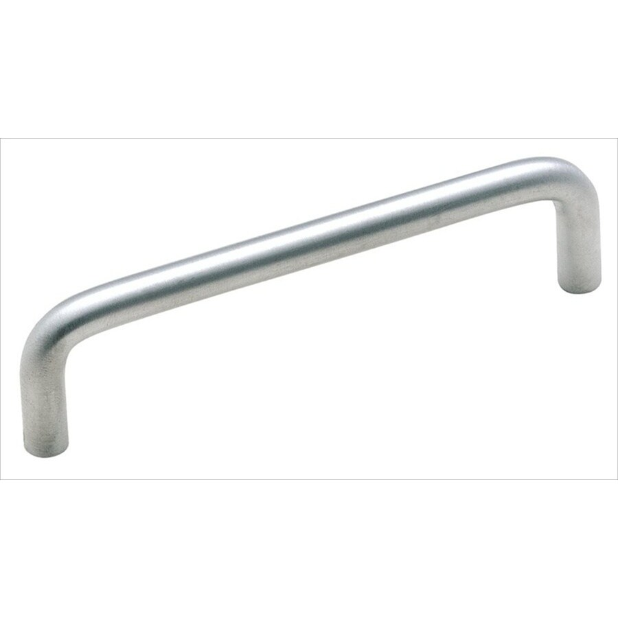 Amerock 4-in Center-To-Center Brushed Chrome Allison Bar Cabinet Pull for Appliances