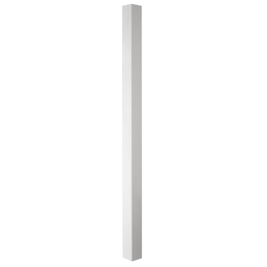 Shop gatehouse 5 in x 5 in x 8 ft white vinyl fence post at lowes gatehouse 5 in x 5 in x 8 ft white vinyl fence post baanklon Image collections