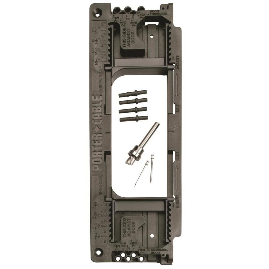 Shop Porter Cable Door Hinge Template At Lowes Com