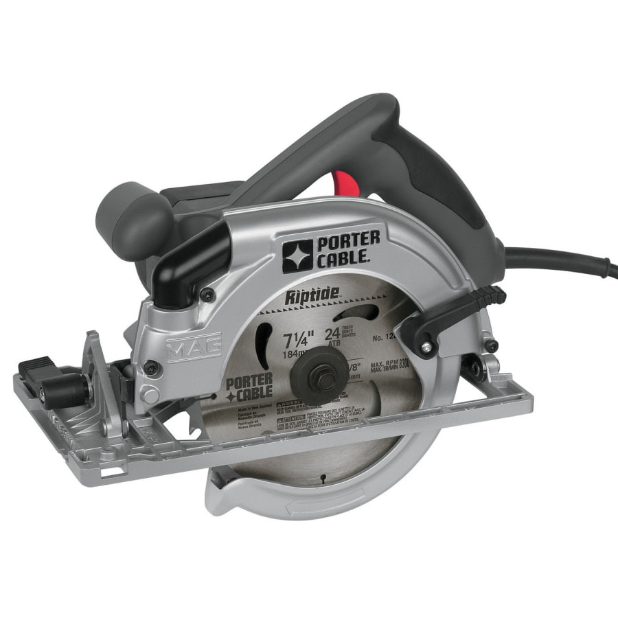 Shop porter cable 15 amp 7 14 in corded circular saw at lowes porter cable 15 amp 7 14 in corded circular saw greentooth Choice Image