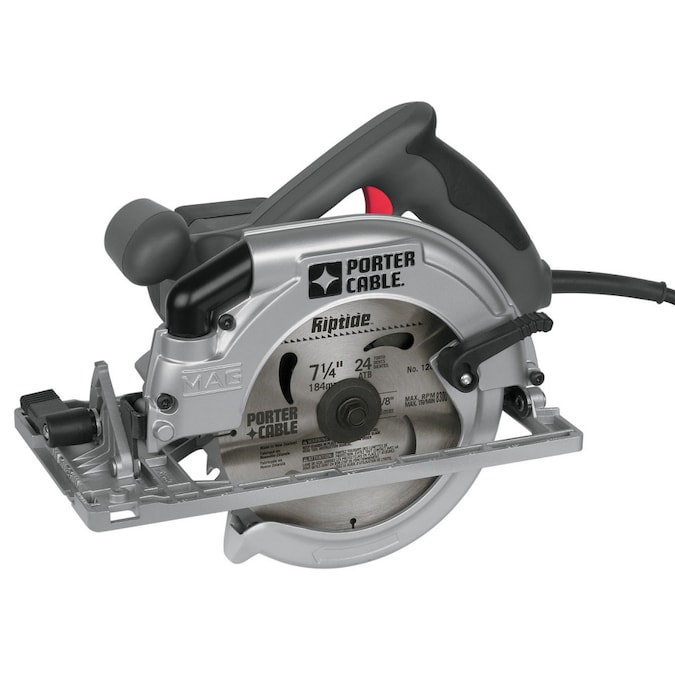 Porter Cable 15 Amp Corded Circular Saw With Magnesium Shoe In The Circular Saws Department At Lowes Com