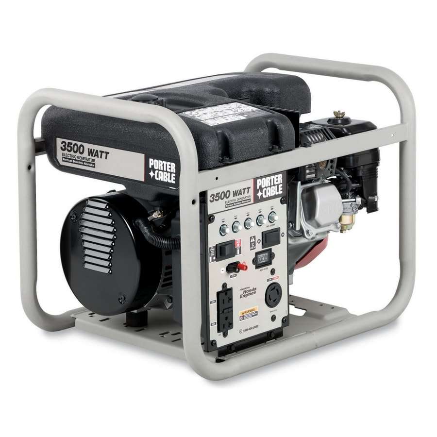 PORTER-CABLE 3500 Running Watts Portable Generator