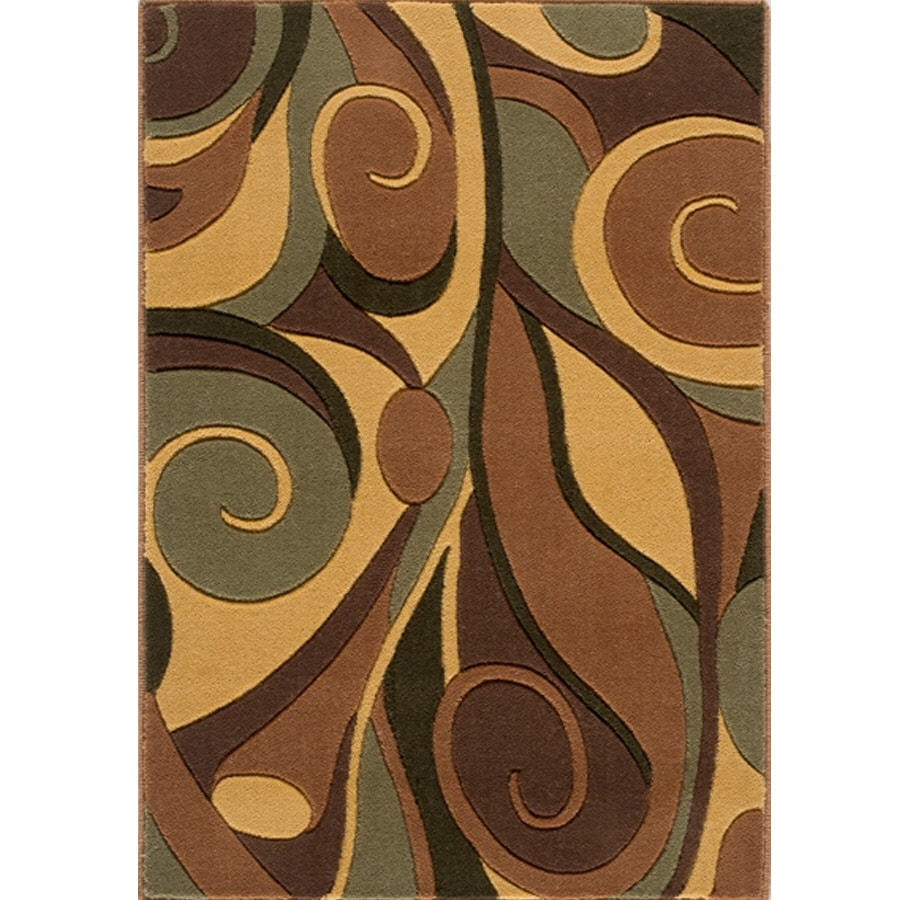 Momeni Rectangular Multicolor Woven Accent Rug (Common: 2-ft x 3-ft; Actual: 26-in x 36-in)