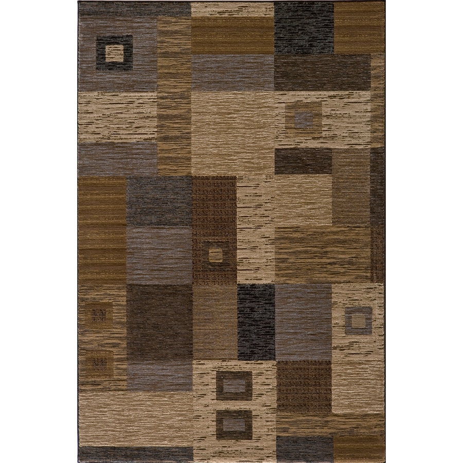 Momeni Hudson Rectangular Cream Block Woven Accent Rug (Common: 2-ft x 3-ft; Actual: 24-in x 36-in)