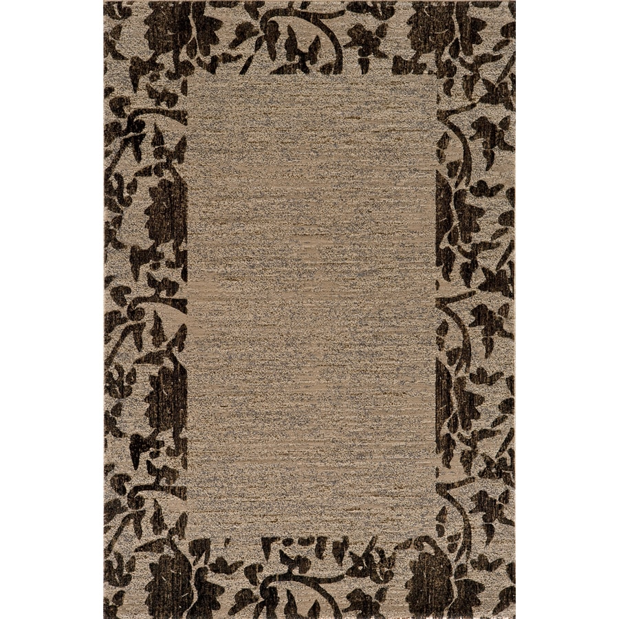 Momeni Crosby Ivory Rectangular Indoor Woven Throw Rug (Common: 2 x 3; Actual: 2-ft W x 3-ft L)