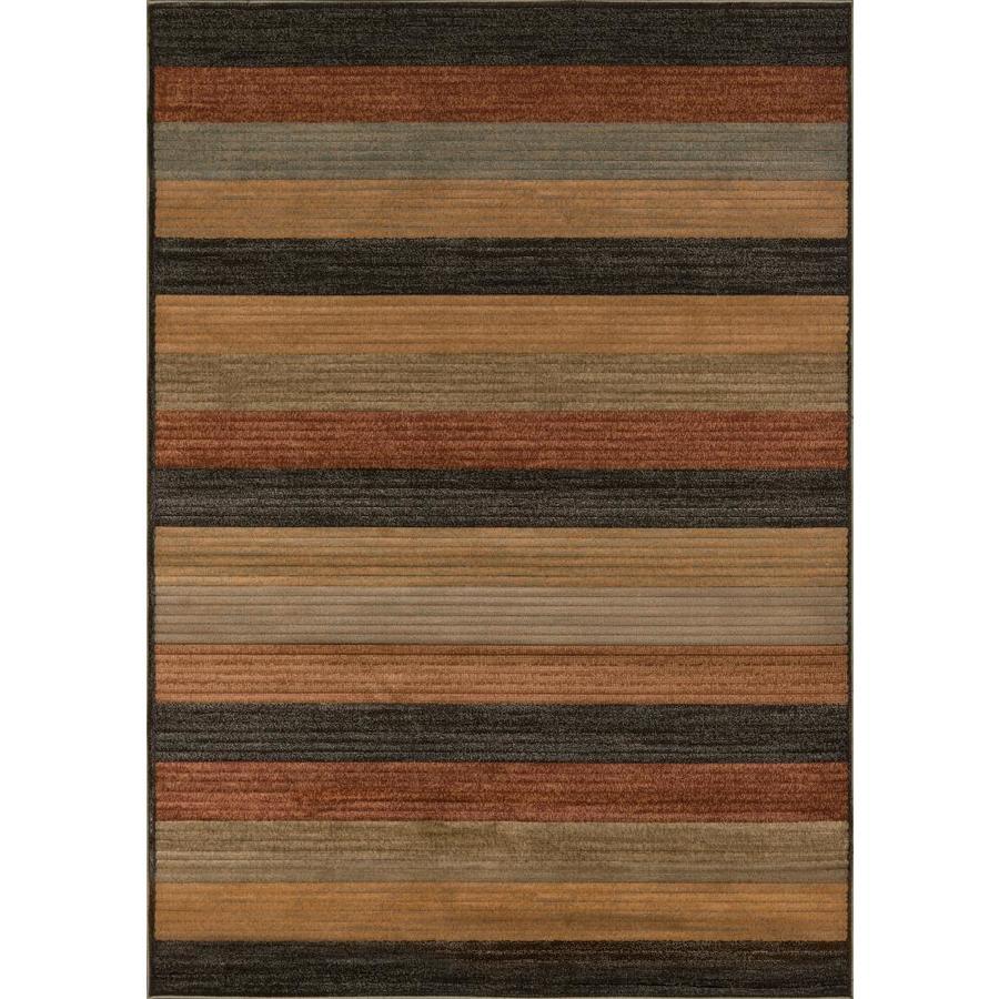 Momeni Cooper Multi Rectangular Indoor Woven Area Rug (Common: 4 x 6; Actual: 3.9-ft W x 5.58-ft L)
