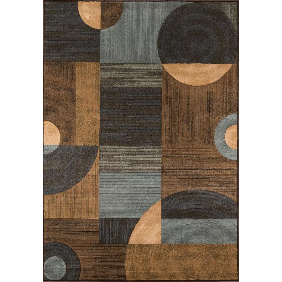 Momeni Essex Brown Rectangular Indoor Woven Area Rug (Common: 8 x 10; Actual: 94-in W x 118-in L)