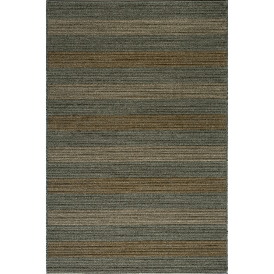 Momeni Cooper Rectangular Blue Transitional Woven Area Rug (Common: 5-ft x 8-ft; Actual: 5.25-ft x 7.5-ft)