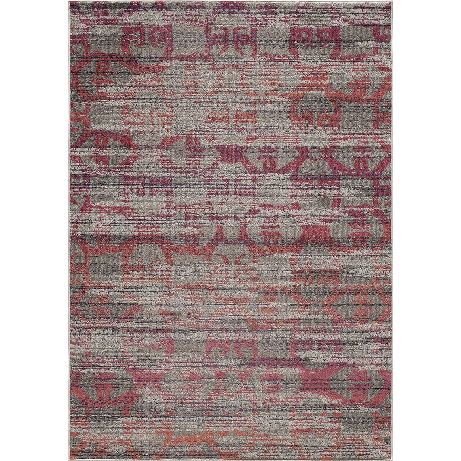 Momeni Taylor Orange Rectangular Indoor Woven Area Rug (Common: 5 x 8; Actual: 5.25-ft W x 7.5-ft L)