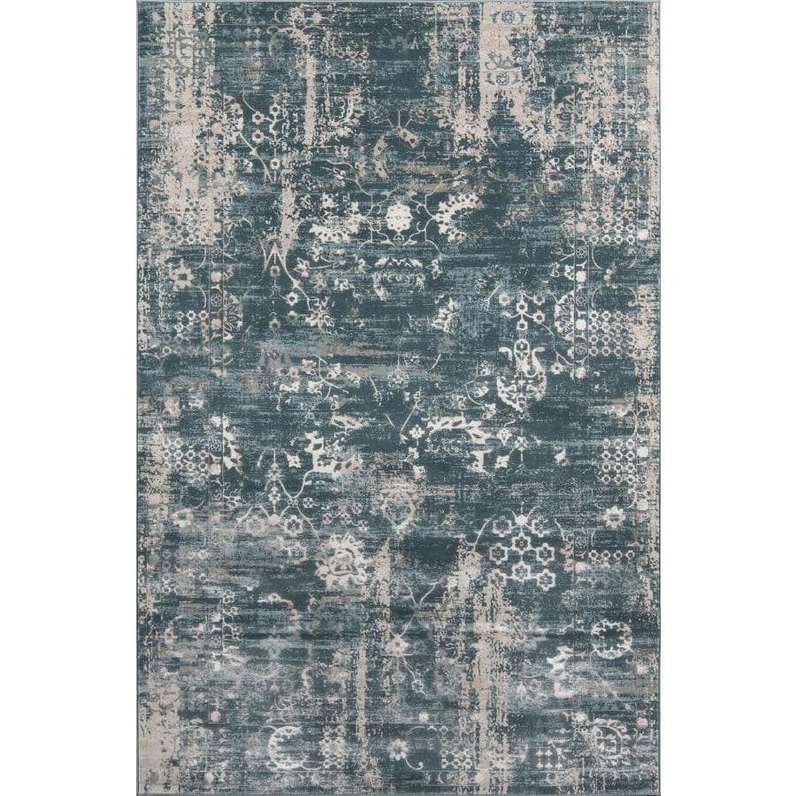 Momeni Juliet 2 X 3 Green Indoor Distressed Overdyed Vintage Area Rug In The Rugs Department At Lowes Com