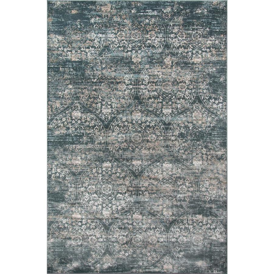 Momeni Juliet 3 X 5 Green Indoor Distressed Overdyed Vintage Area Rug In The Rugs Department At Lowes Com