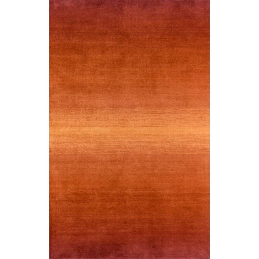 Momeni Katy Orange Rectangular Indoor Woven Area Rug (Common: 5 x 8; Actual: 60-in W x 96-in L)