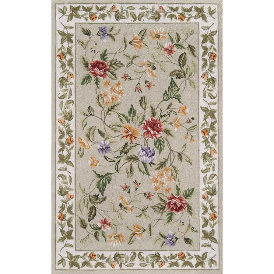 Momeni Rugs ATLASATL-3NAT5080 Atlas Collection Natural 100/% Wool Hand Knotted Area Rug 5 x 8