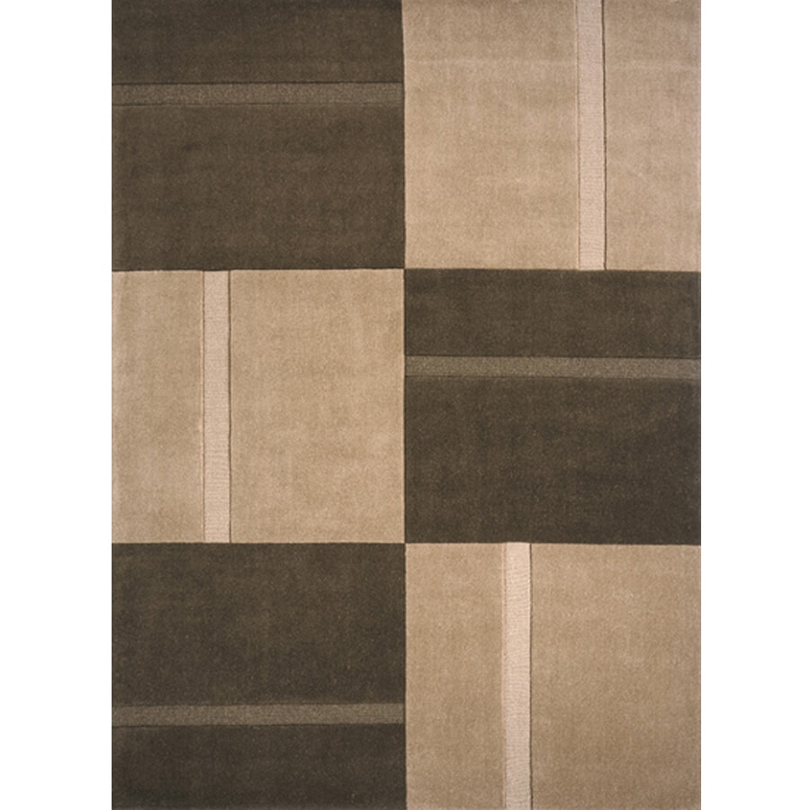 Momeni Rectangular Cream Woven Accent Rug (Common: 2-ft x 4-ft; Actual: 27-in x 46-in)
