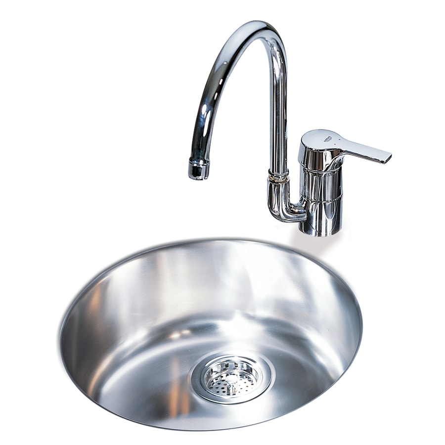 Franke Bar Sink : Shop Franke USA Round Stainless Steel Undermount Bar Sink at Lowes.com