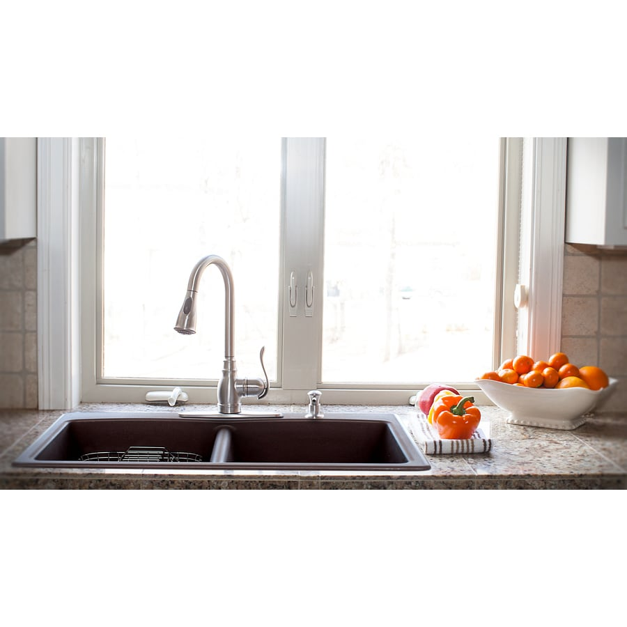 ... or Undermount 4-Hole Commercial/Residential Kitchen Sink at Lowes.com