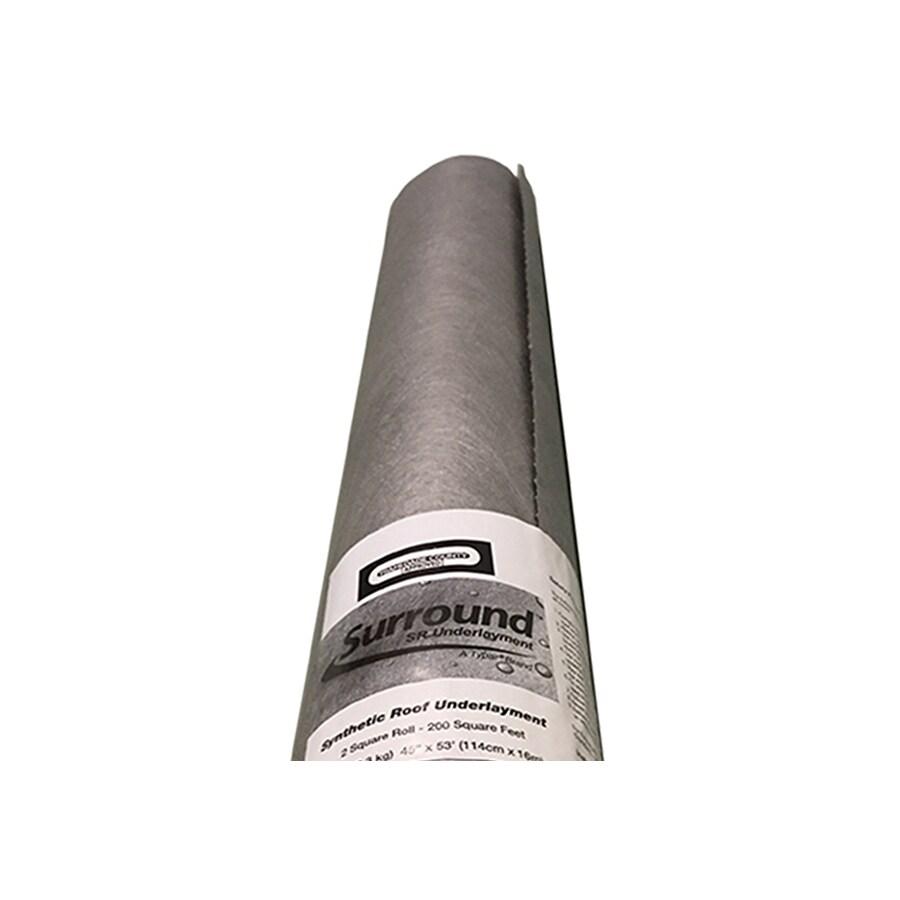 TYPAR Typar 45.25-in x 53.4-ft 200-sq ft Felt Roof Underlayment