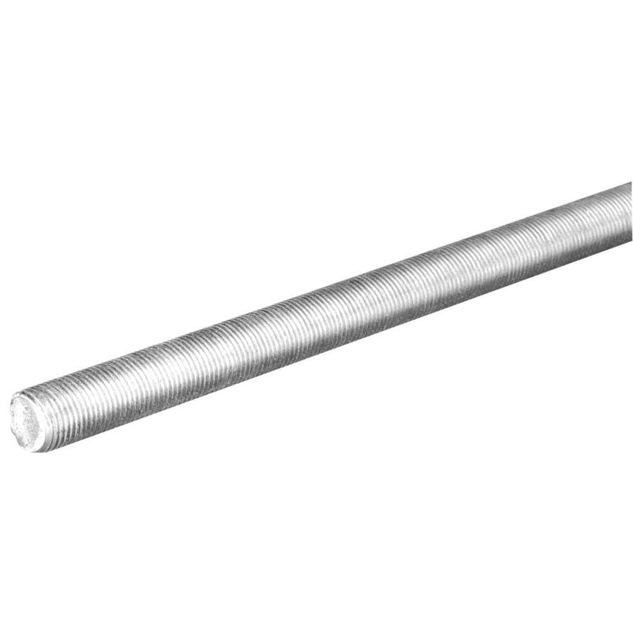 Hillman 0.5-in x 12-in Standard (SAE) Threaded Rod
