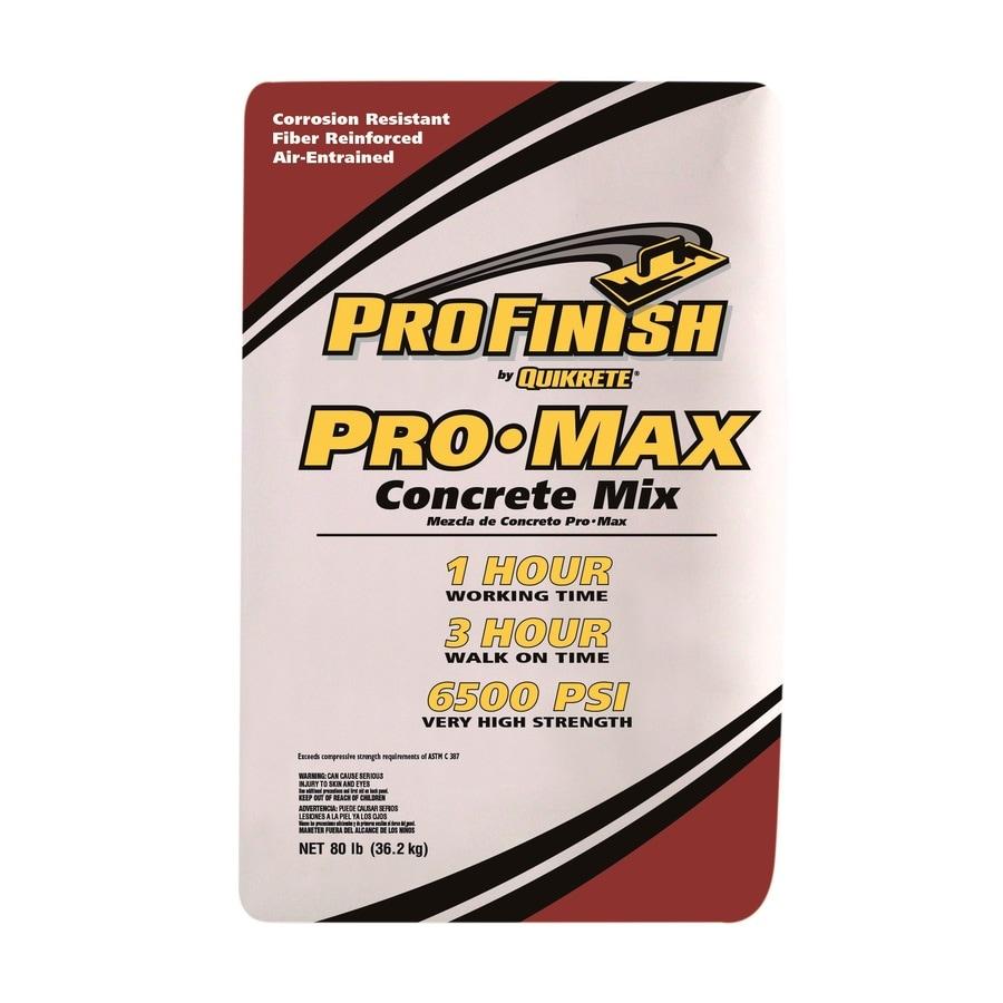 QUIKRETE ProFinish 80-lb Gray High Strength Concrete Mix