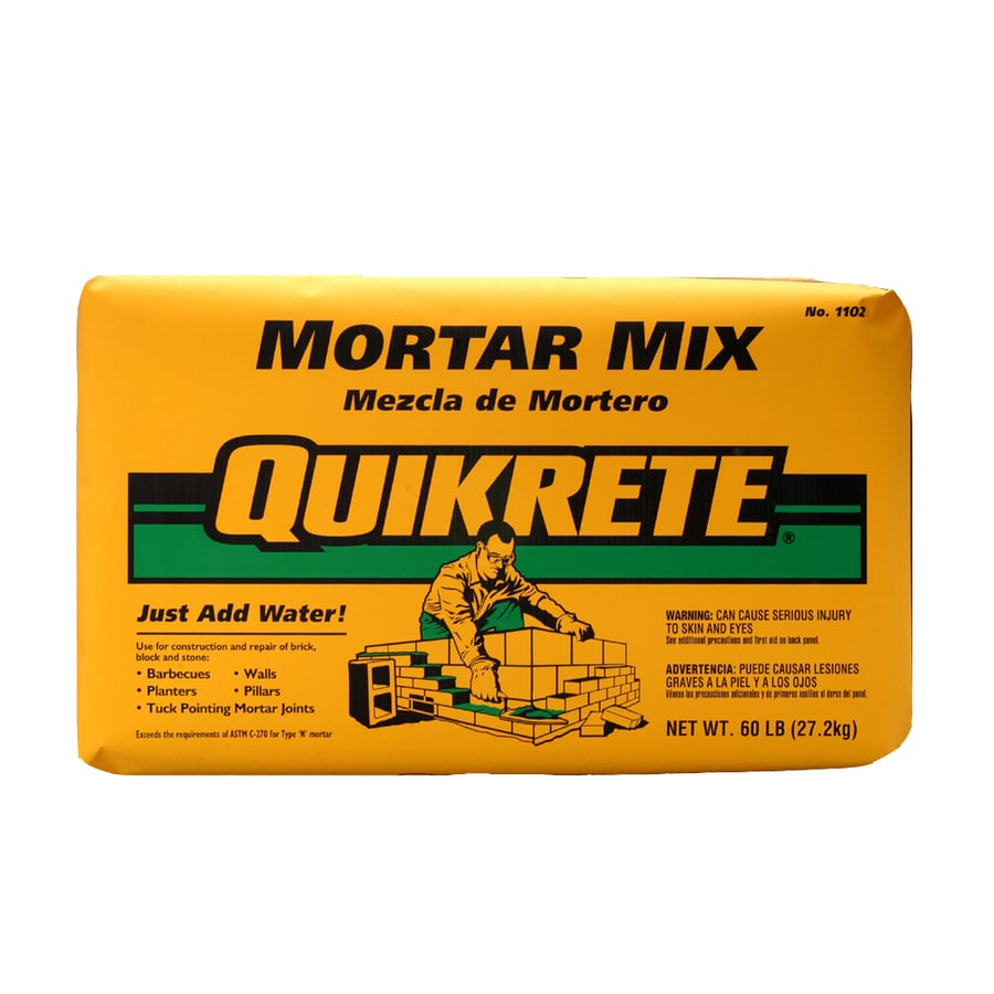 QUIKRETE 60-lb Gray Type - N Mortar Mix