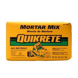 Shop Mortar Mix At
