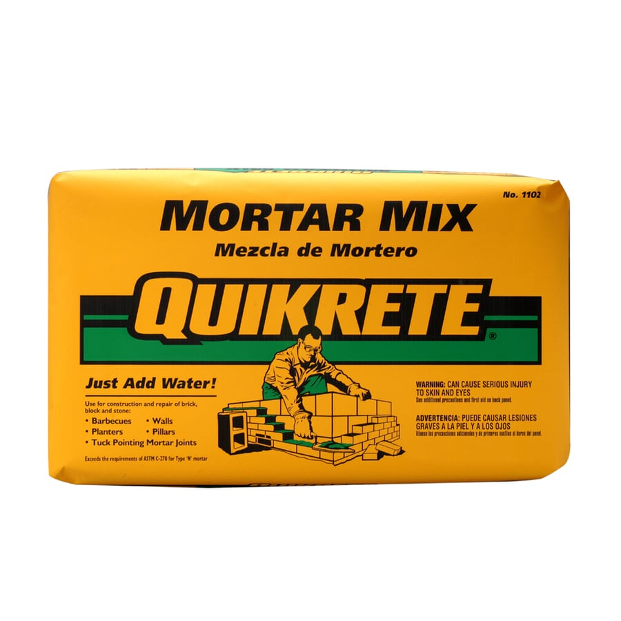 QUIKRETE 80-lb Gray Type-N Mortar Mix