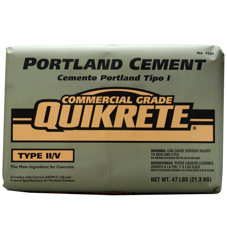 QUIKRETE Portland 47-lb Gray Type-II/V Cement Mix