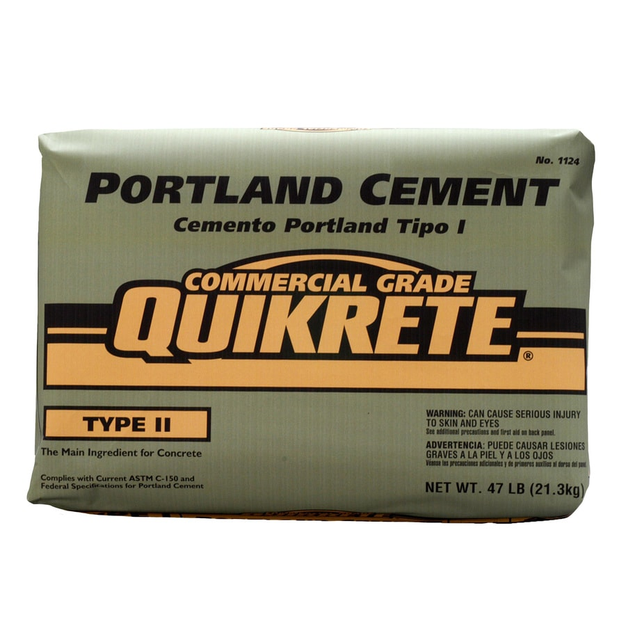 QUIKRETE Portland 47-lb Type-II Cement Mix