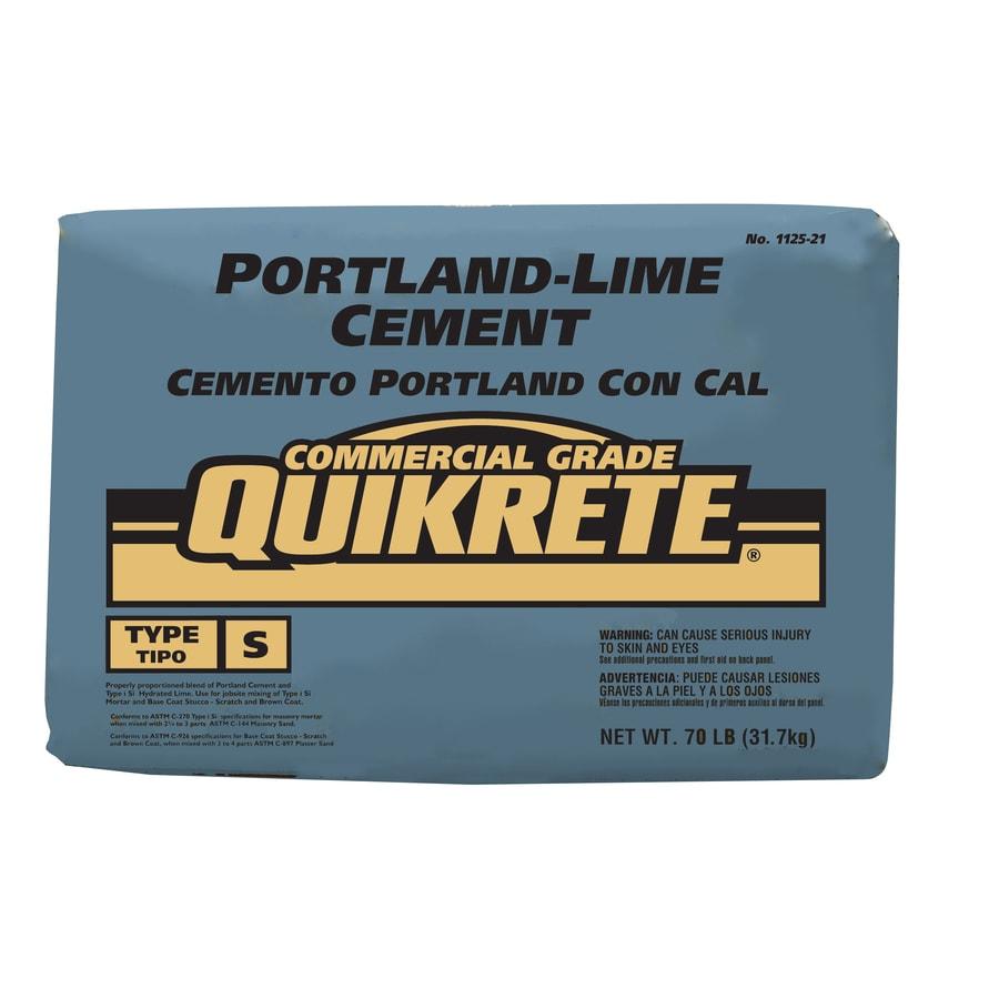 White Portland Cement : Shop quikrete portland lime lb white type s cement mix