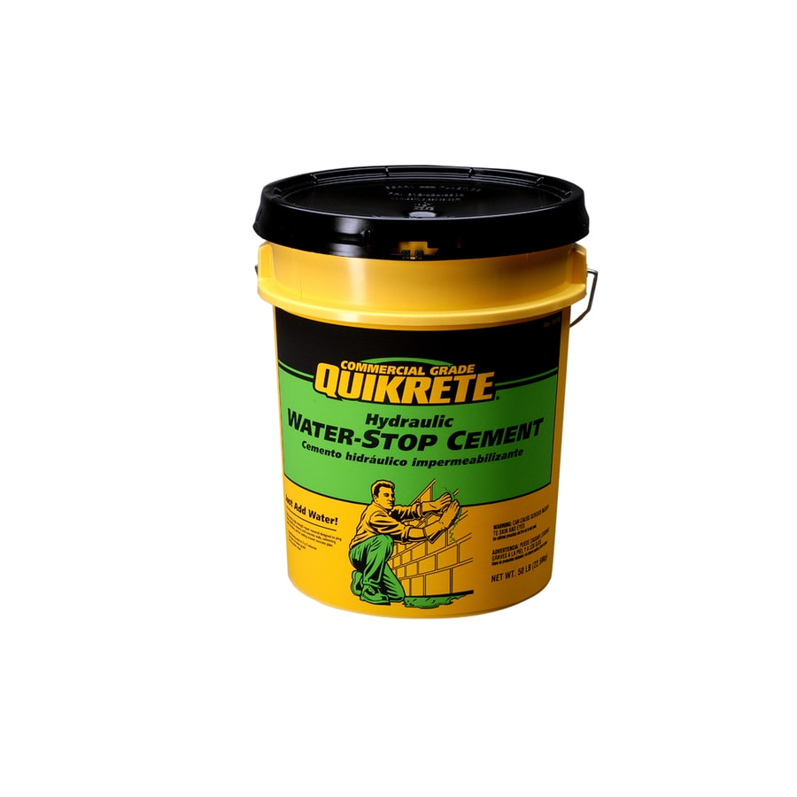 QUIKRETE Hydraulic Water-Stop 50-lb Cement Mix