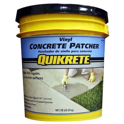 QUIKRETE 20-lbs Vinyl Concrete Patcher