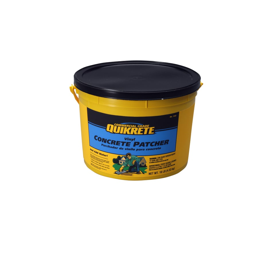 Quikrete 10 Lbs Vinyl Concrete Patch At Lowesforpros Com